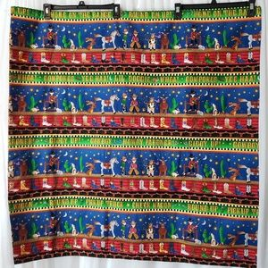 Hand Made Throw Small Blanket Decorative Cover